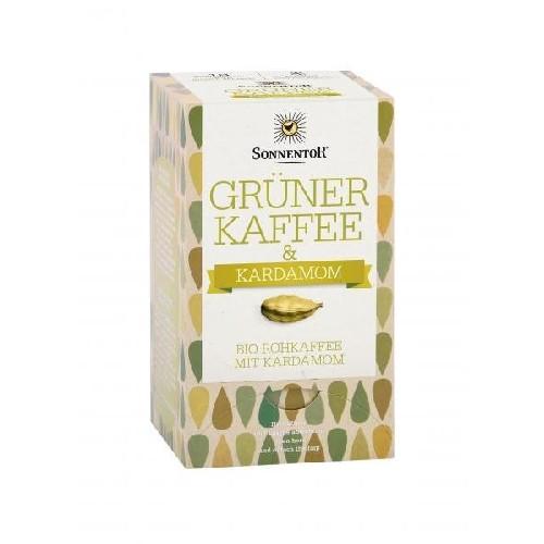 Cafea Verde cu Cardamom Eco 18plicuri  Sonnentor