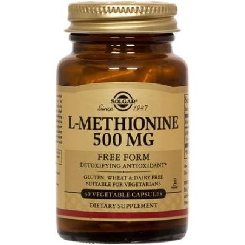 L-Methionine 500mg 30cps Solgar