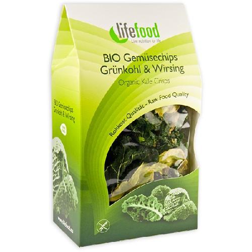 Chips Din Kale Raw Bio 15gr Lifefood