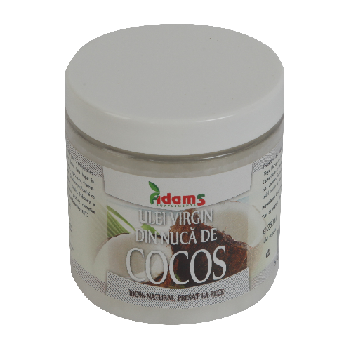 Ulei de Cocos Virgin, presat la rece 250ml