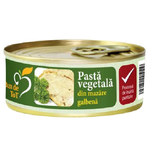Pasta Vegetala din Mazare Galbena 100gr Dacia Plant