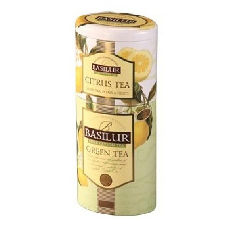 Green Tea & Citrus 125gr Basilur