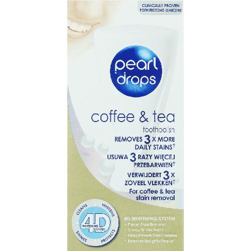 Pearl Drops Gel pentru Albirea Dintilor (Cafea si Ceai) 50ml