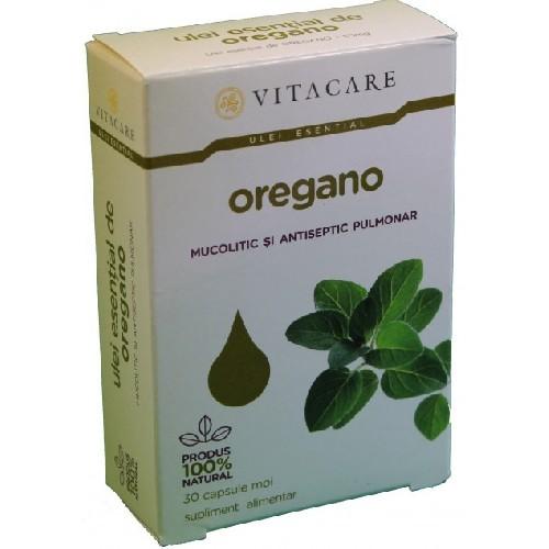 Ulei Esential De Oregano 30cps Moi Vitacare