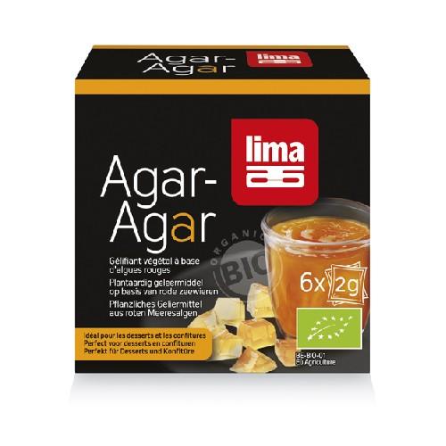 Agar Agar Pudra Bio 6x2gr Lima