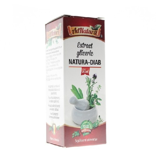 Extract Gliceric Natura-diab 50ml Adnatura