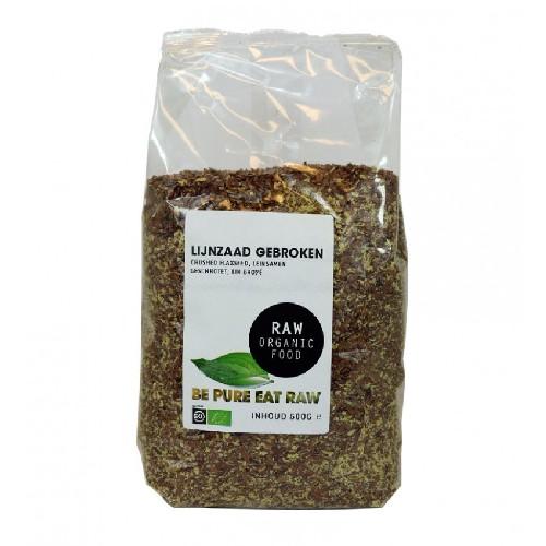 Seminte de In Pisate Bio 500gr Smaak