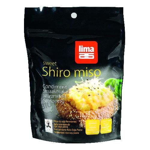 Pasta de Soia Shiro Miso Bio 300gr Lima