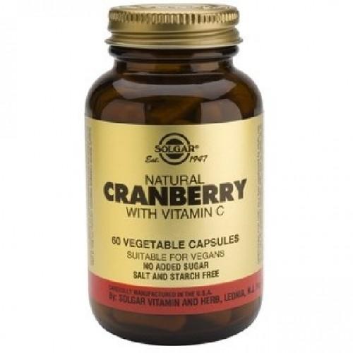 Cranberry cu Vitamina C 60cps Solgar