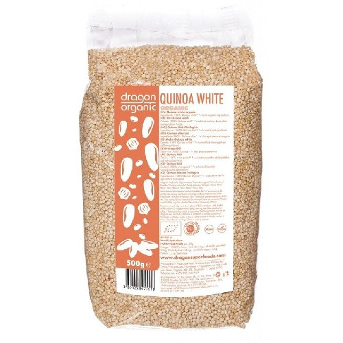 Quinoa Alba Bio 500gr Dragon Superfoods