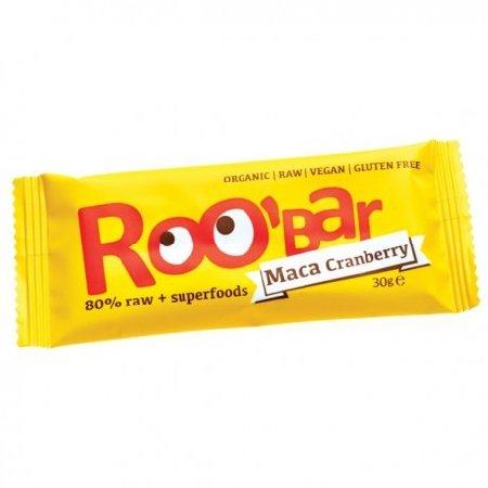 Baton Roobar Cu Maca&merisor Raw Eco 30gr Bio