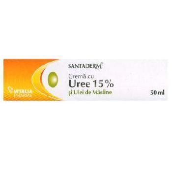 Crema Uree 15% Santaderm 50ml Vitalia