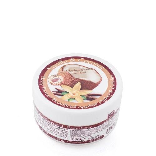 Unt De Corp Cu Vanilie Si Cocos 150ml Herbagen