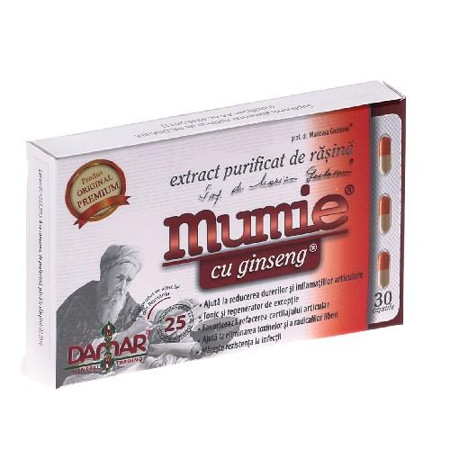 Mumie cu Ginseng 30cps Damar