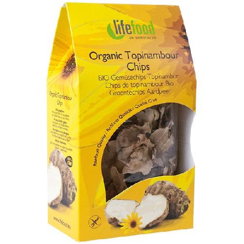 Chips din Topinambur Raw Bio 30gr Lifefood