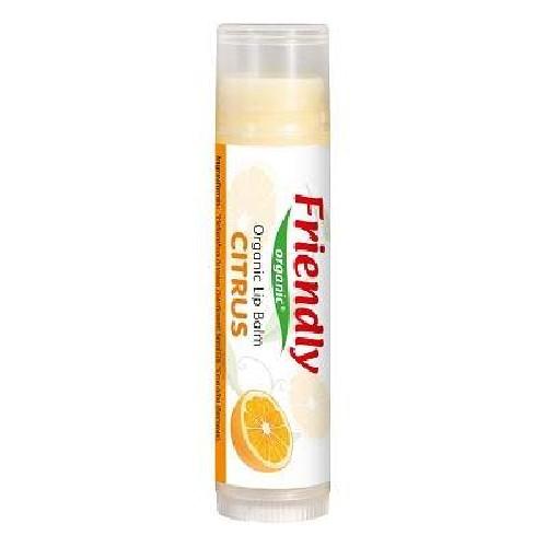 Balsam de Buze Organic cu aroma de Citrice 4,25gr Friendly