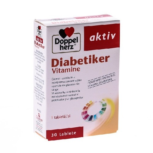Diabetiker Vitamine 30cpr Doppel Herz