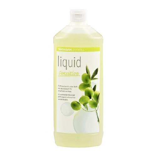 Sapun Lichid/Gel de Dus Bio Neutru Sensitiv 1l Sodasan