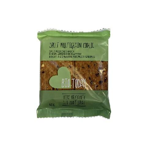 Biscuiti cu Spelta si Multicereale Bio 50gr Smaak