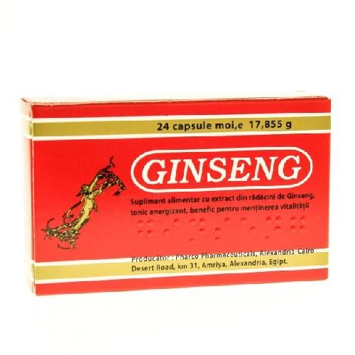 Ginseng 24cps Pharco