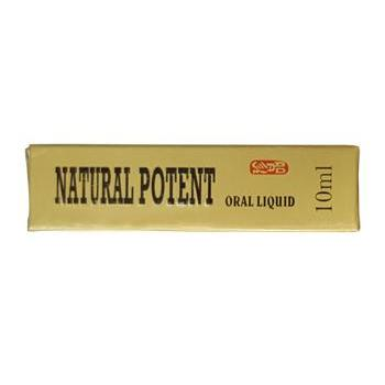 Natural Potent 1 buc. / 10ml Naturalia Diet