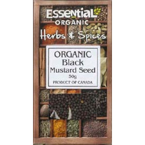Boabe de Mustar Negru Bio 50gr Essential