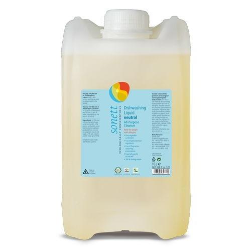 Detergent Ecologic Pentru Spalat Vase -neutru 10l Sonett