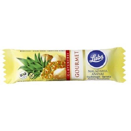 Baton Cu Macadamia Si Ananas Vegan 40gr Biogama