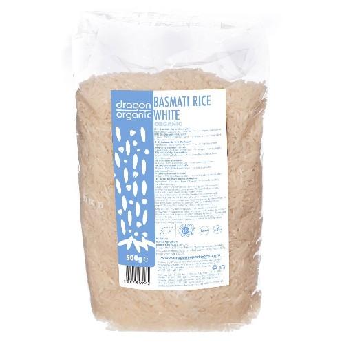 Orez Basmati Alb Bio 500g Dragon Superfoods