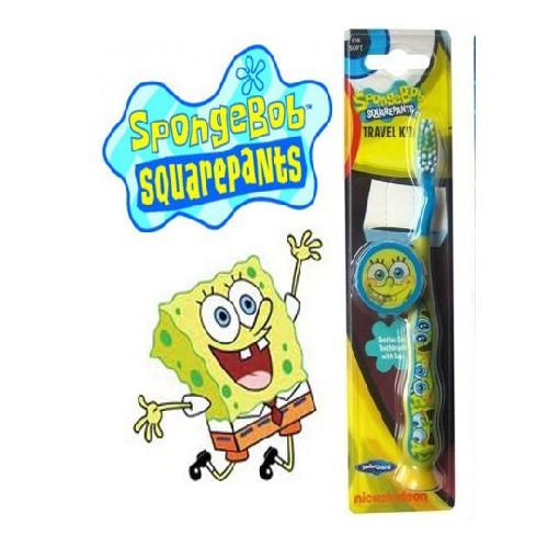 Periuta de Dinti Sponge Bob pentru Calatorit 1buc BUSINESS