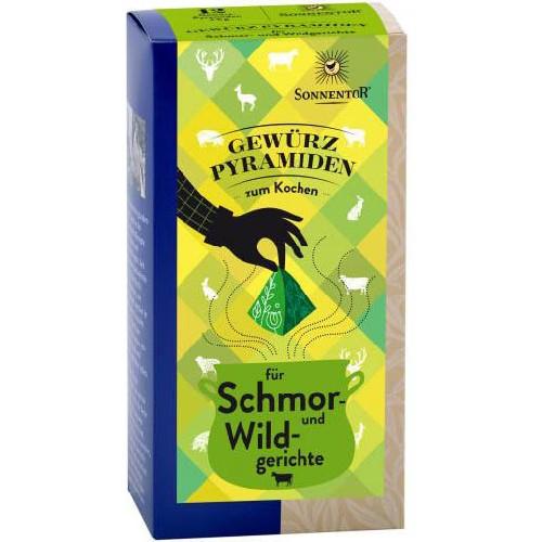 Condiment Piramida - Tocanite si Vanat Eco 12plicuri Sonnentor