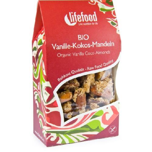 Migdale cu Cocos si Vanilie Raw Bio 90gr Lifefood