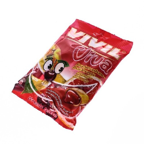 Vivil Viva Bomboane Gumate Cu Aroma De Fructe 145gr