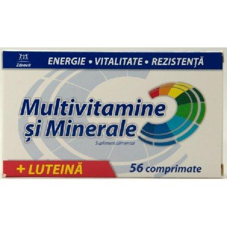 Multivitamine si Minerale Zdrovit 56cpr