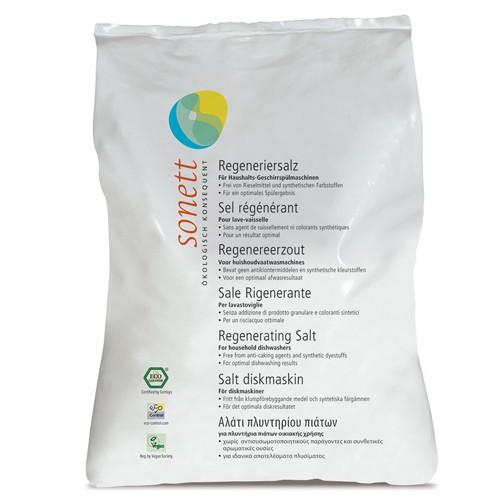 Sare Regeneranta Ecologica Pentru Masina De Spalat Vase 2kg Sone