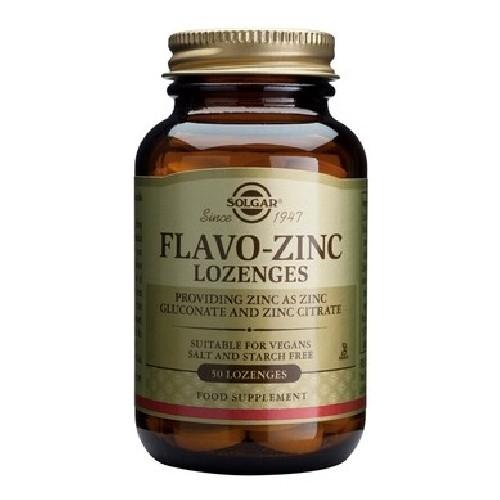 Flavo-zinc 23mg Lozenges 50cps Solgar