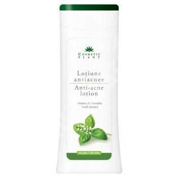 Lotiune Antiacnee Cu Extract De Busuioc 200 ml Cosmetic Plant