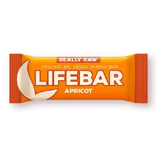 Lifebar Baton Cu Caise Raw Bio 47gr Lifefood
