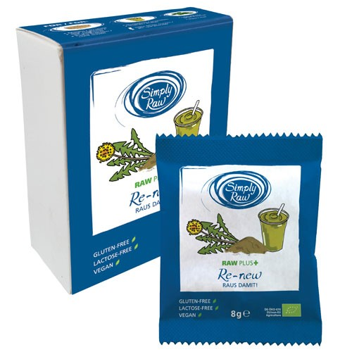 Pudra Raw Plus Renew Bio 40gr 5 plicuri Simpli Raw