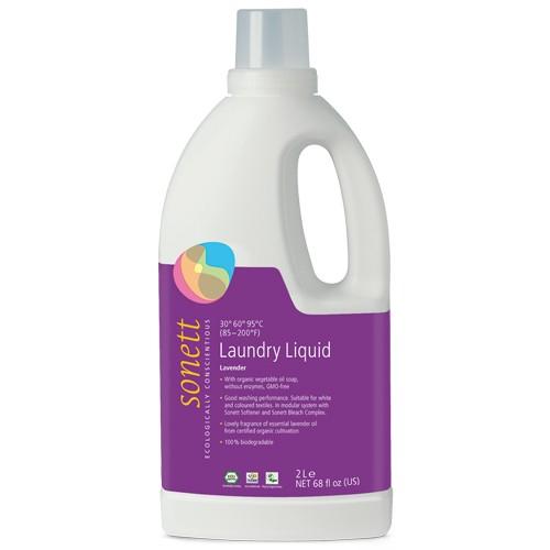 Detergent Ecologic Lichid Pentru Rufe Albe Si Colorate Lavanda 2