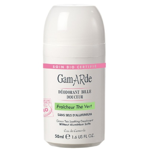 Deodorant Natural Roll-On cu Ceai Verde Bio 50ml GamARde