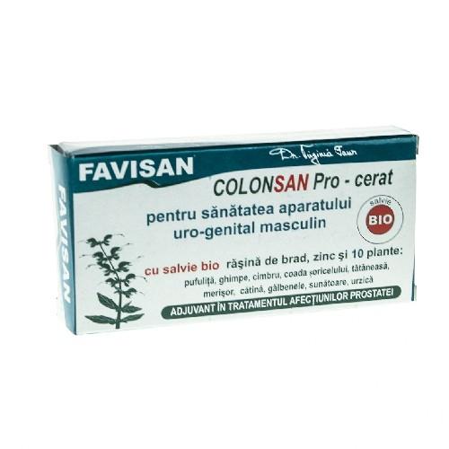 Supozitor ColonSan Pro cu 10 plante 10buc Favisan
