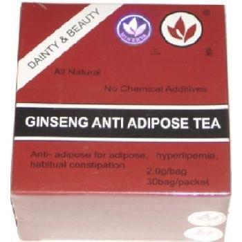 Ceai Antiadipos Rosu Ginseng 30dz Minerva