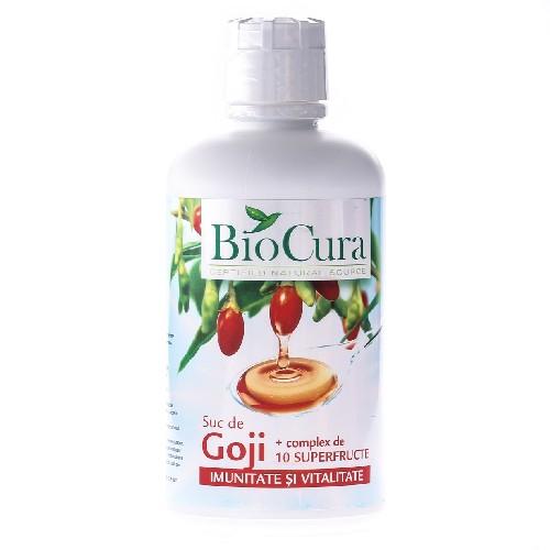 Suc Goji + Complex de 10 Superfructe 946ml (bio)