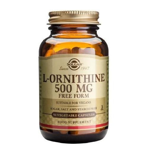 L-Ornithine 500mg  50cps Solgar