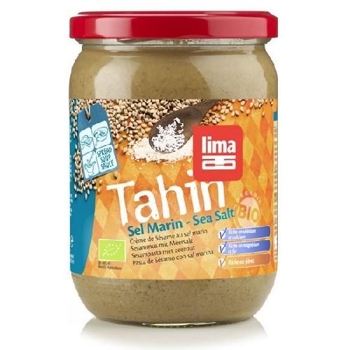Tahini Cu Sare De Mare Bio 500gr Lima