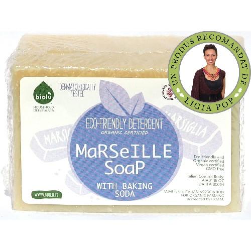 Sapun Solid De Marsilia Ecologic 140g Biolu