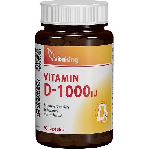 Vitamina D 1000UI  90cps Vitaking