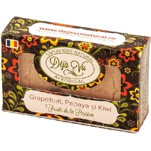 Sapun Natural Cu Grapefruit  Kiwi Si Papaya 90gr D