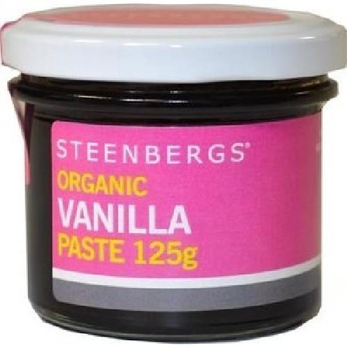 Pasta de Vanilie Bio 125gr Steenberg